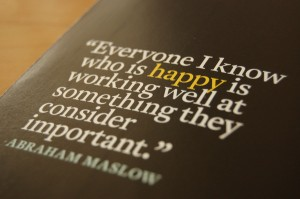 Abraham-Maslow happy people