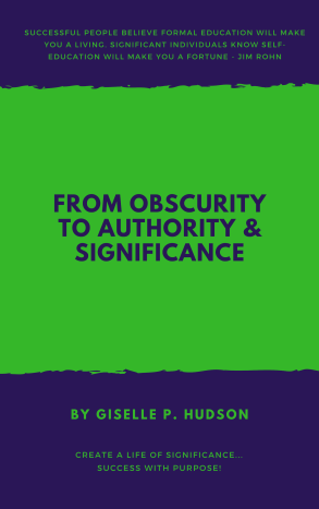 from obscurity to authority and significance